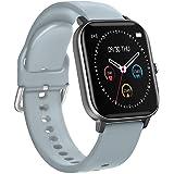 BINDEN Smartwatch P8 Oxímetro, Ritmo Cardíaco, Pantalla Touch, Multicarátulas, Salud y MultiDeportes iOS/Android, Gris Comple