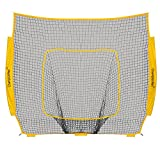 ChampionNet Baseball/Softball 7′ x 7′ Net Replacement Universal fit to Bow Style Net, Team Color (NET ONLY)