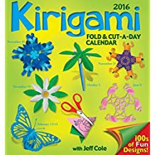 Kirigami Fold & Cut-a-Day 2016 Day-to-Day Calendar