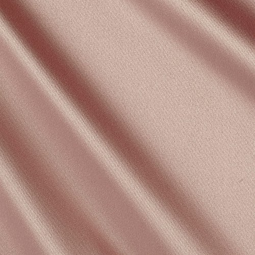 - Ben Textiles Stretch L'Amour Satin Rive Rose Fabric by The Yard