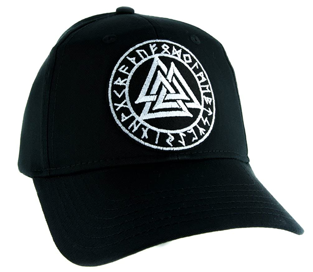 Valknut Odin Viking Symbol Hat Baseball Cap Alternative Clothing Old Norse Mythology