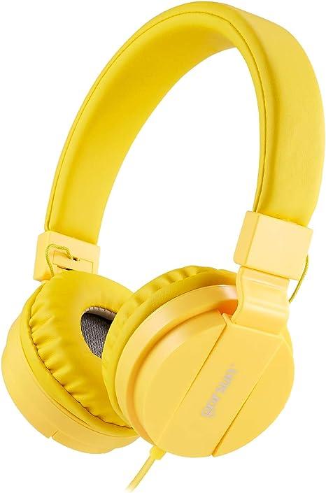 Comode Audio Cuffie per Bambina per Cellulare//Smartphone //Tablet// Mp3-Blu Pieghevoli Leggere On Ear Auricolari per Bambini Ragazzi e Ragazze ONTA gorsun/® Cuffie per Bambini