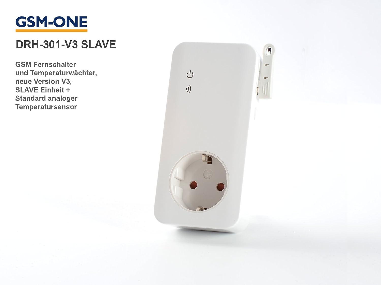 Fernschalter DRH-301-V4-SLAVE: Nebeneinheit zur Erweiterung des Schaltsystems DRH-301-V3/V4-MASTER GSM-One