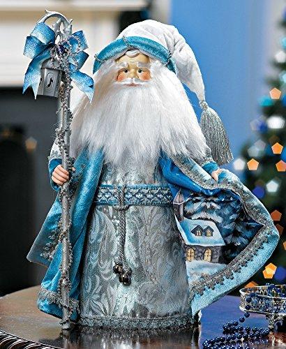 Winter Collectible Santa Claus (Blue Santa Claus)