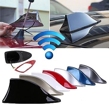 bxtbest-seller Antena de aleta de tiburón Señal de radio del coche Antena de cola de techo