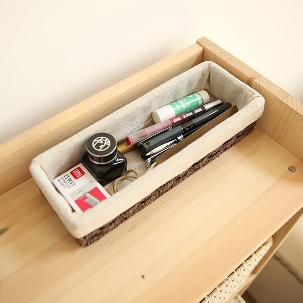 Aufbewahrungsbox Strohgeschirr Organizer Aufbewahrungsboxen Stroh