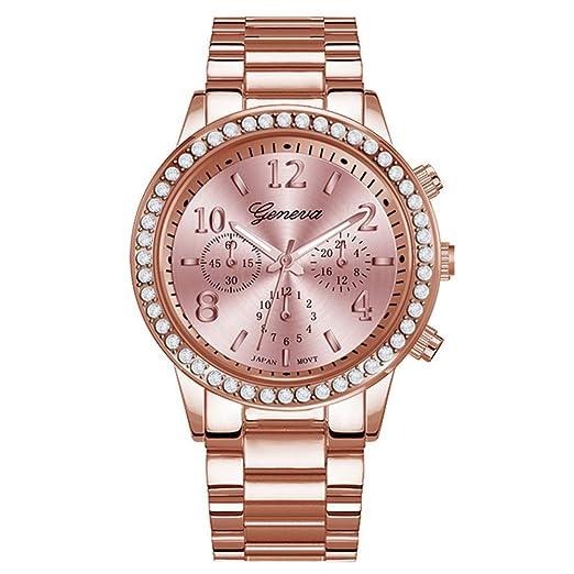 TrifyCore Reloj para Hombre Joyas Plateadas Reloj de Cristal Redondo clásico Reloj analógico de Cuarzo Reloj