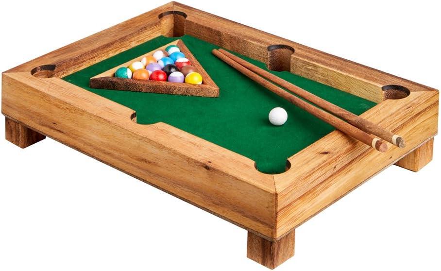 Mini mesa de billar de acero madera – Gadget para casa – Juego de ...