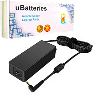 UBatteries Compatible 20V 90W AC Adapter Charger Replacement for Lenovo S9 S10, MSI Wind U90 U100 U115 U120 U120H MS163A MS1651 MS1722 MS1721 VR630 VR603 PR200 Series