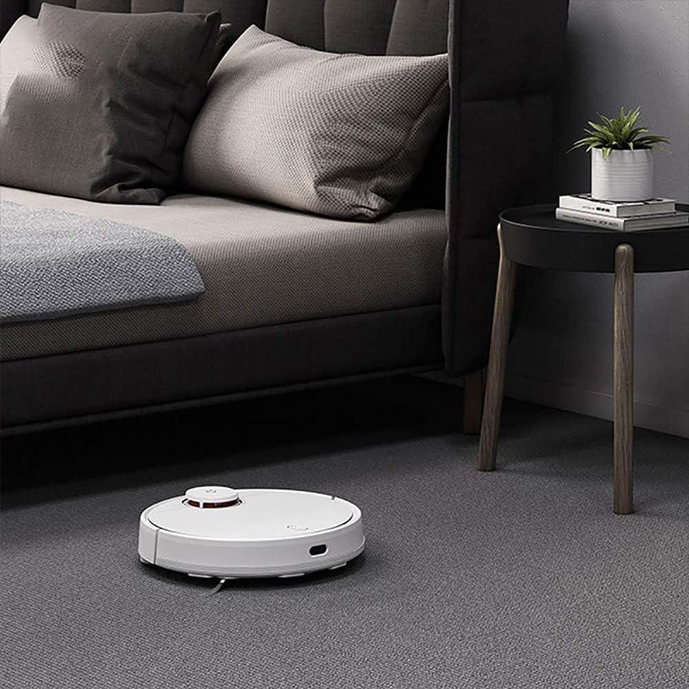 F-JX Smart Robot Aspirateur Recharge Automatique avec pour planchers durs et Tapis,Blanc Black