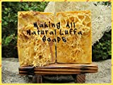 Luffa Soap, All Natural Luffa Soap, Exfoliating Soap, Vegan, Massage Soap Bar, Foot Scrub, Anti Cellulite Scrub, pedicure soap review