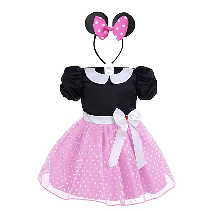 dPois Disfraz Princesa para Niña Bebé Vestido Princesa Tutú ...