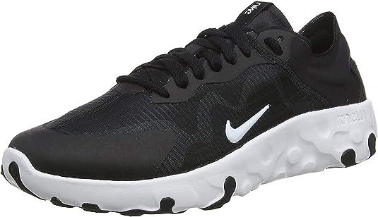 Zapatillas Nike para hombre, de caña baja, negras y blancas, 002, US:7.5