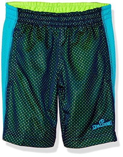 Spalding Big Boys' Core Athletic Short, Navy Blue, 14/16