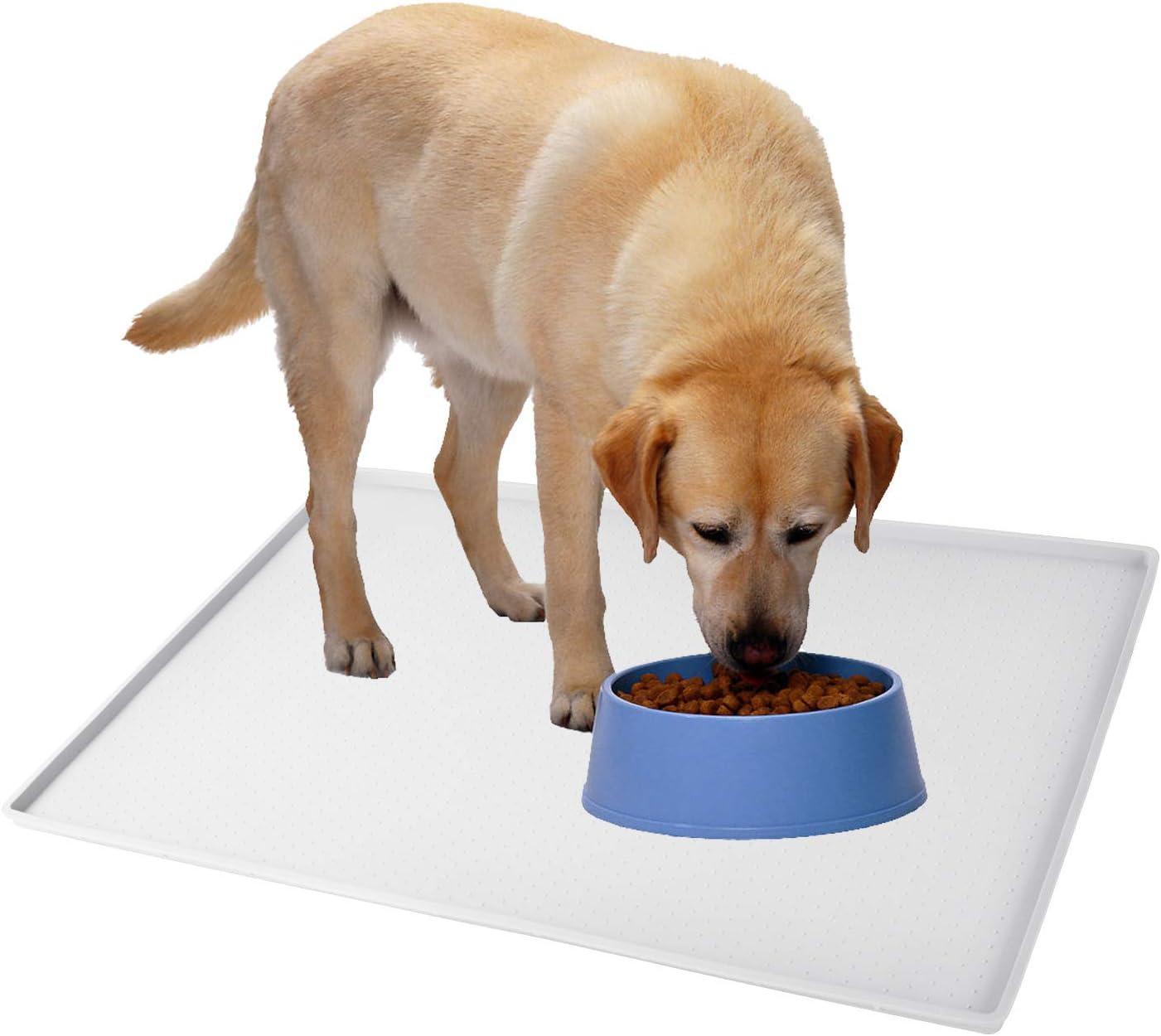 Gosmol Dog Food Mat XL (24x16) or L (20