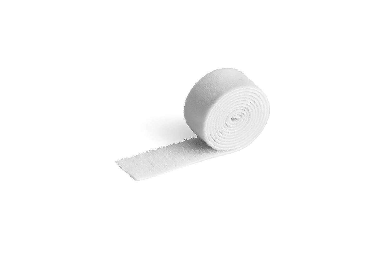 Brida para cables con velcro Durable 503302 Cavoline Grip 30 100 x 3 cm color blanco