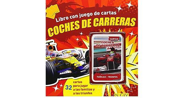 COCHES DE CARRERAS.(LIBRO CON JUEGO DE CARTAS ...