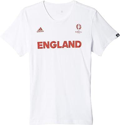 adidas Selección de Inglaterra - Camiseta Oficial para Hombre: Amazon.es: Zapatos y complementos
