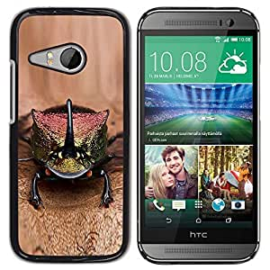TaiTech / Hard Protective Case Cover - Brown Nature Exotic Animal - HTC ONE MINI 2 / M8 MINI