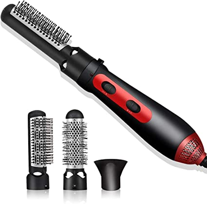 NADAENMF 3 in 1 Rotating air Chaud Spin Brosse à Cheveux