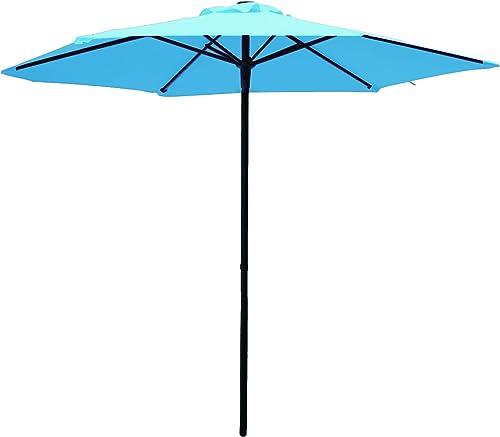 SUNBRANO 7.5 ft Patio Umbrella Aluminum Outdoor Table Market Umbrella