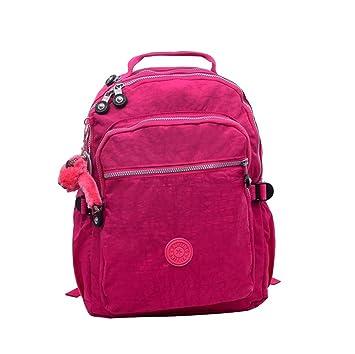 Caliente vender bolsa Shoudler grande seúl rojo Nylon mochila mochila para portátil para estudiantes: Amazon.es: Deportes y aire libre