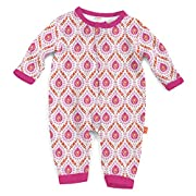 Magnificent Baby Magnetic Me Modal Coverall (Floral Damask, 0-3 Months)
