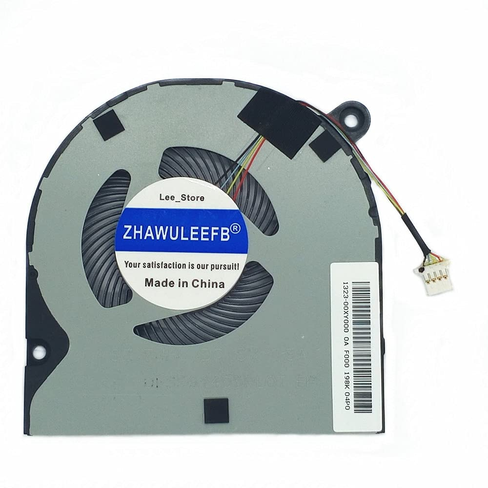 Lee_store Replacement New Laptop CPU Cooling Fan for Acer Swift 3 SF314-42-R9YN SF315-51-518S SF314-42-52-53-54 SF314-53G-56G-57G SF315-41-51 Series 1323-00XY000 23.GNUN5.001 NS75C20-16M04 Fan