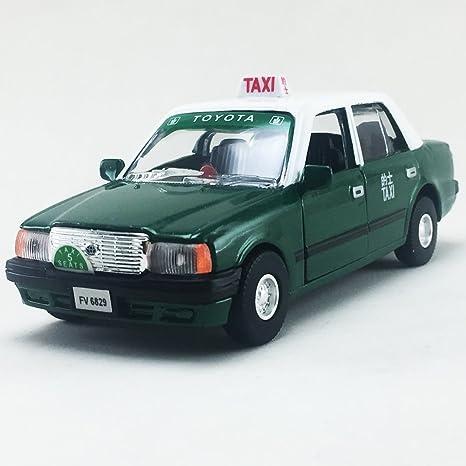Amazon com: Toyota Crown Comfort Hong Kong Green Color Taxi