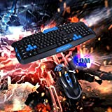 Wiireless Keyboard and Mouse Combo,Vanpower 2.4GHz