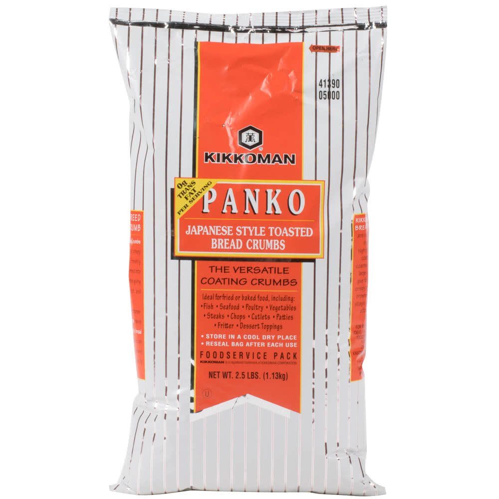 TableTop King Panko Japanese Style Toasted Bread Crumbs - 2.5 lb.