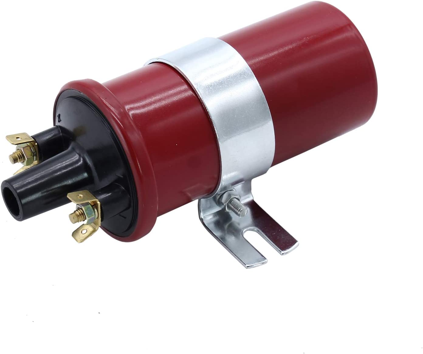 TAKPART 12V Red Sports Ignition Coil