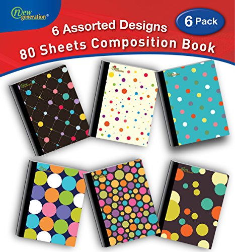 College Rule Composition Book - 2