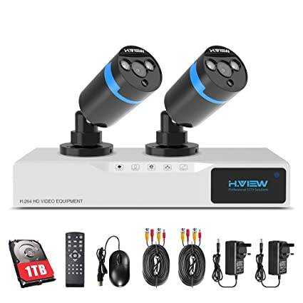 H. View - Sistema CCTV de cámaras de seguridad HD para el hogar