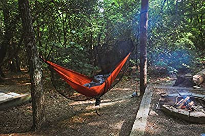 Live Infinitely Hammock Mosquito Net– 11'x 5' - Fits All Single & Double Camping Hammocks -Stop No See Ums, Mosquitos, Spiders & Pesky Bugs -Lightweight Easy Setup & Exclusive XL Compression Pouch