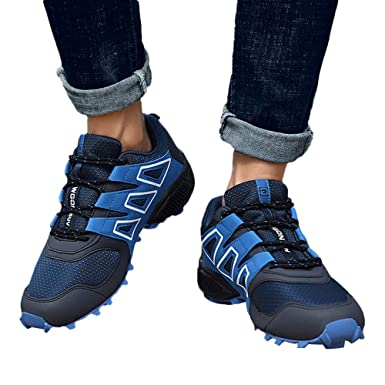 Amazon.com: Gyoume Men Hiking Boots Shoes Waterproof Boots Climbing Outdoors Boots Shoes Sports Running Short Shoes: Clothing