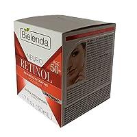 BIELENDA NEURO RETINOL 50 + VITAMIN C & E ADVANCED HYDRATING MOISTURIZER DAY/NIGHT 1.7 FL OZ