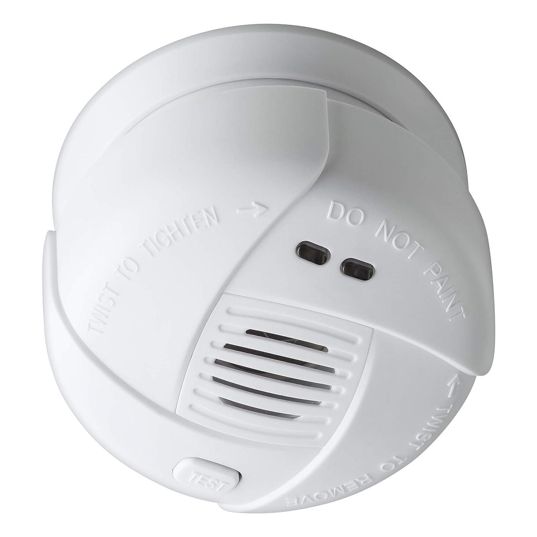 Rauchmelder mini Feuermelder inkl 5 Jahre Batterie grün EN14604 zertifiziert