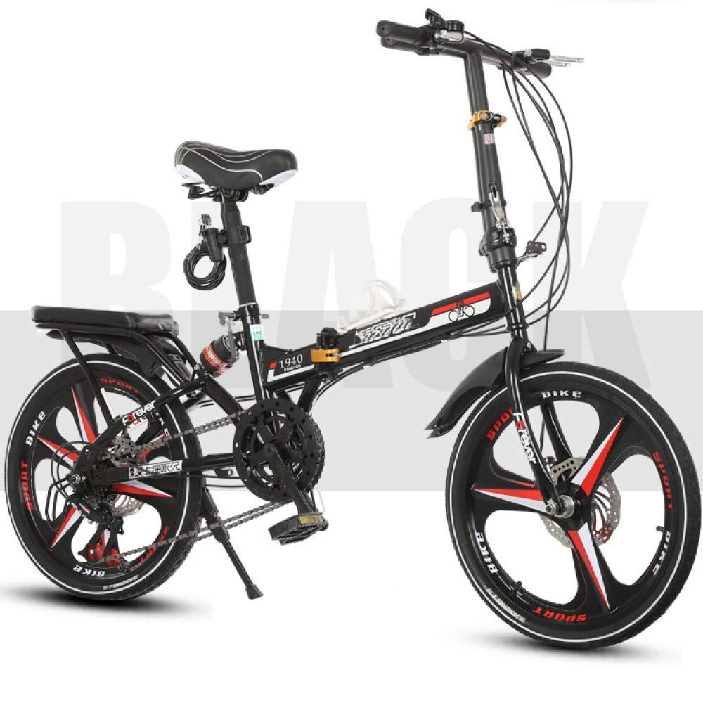 MLL Bicicleta Plegable, Bicicleta Ultraligera para Hombre Y Mujer ...