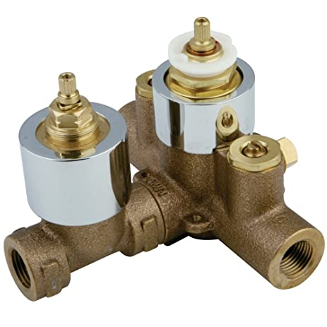 Kingston Brass KS36310V Thermostatic Valve with Volume Control44 ...