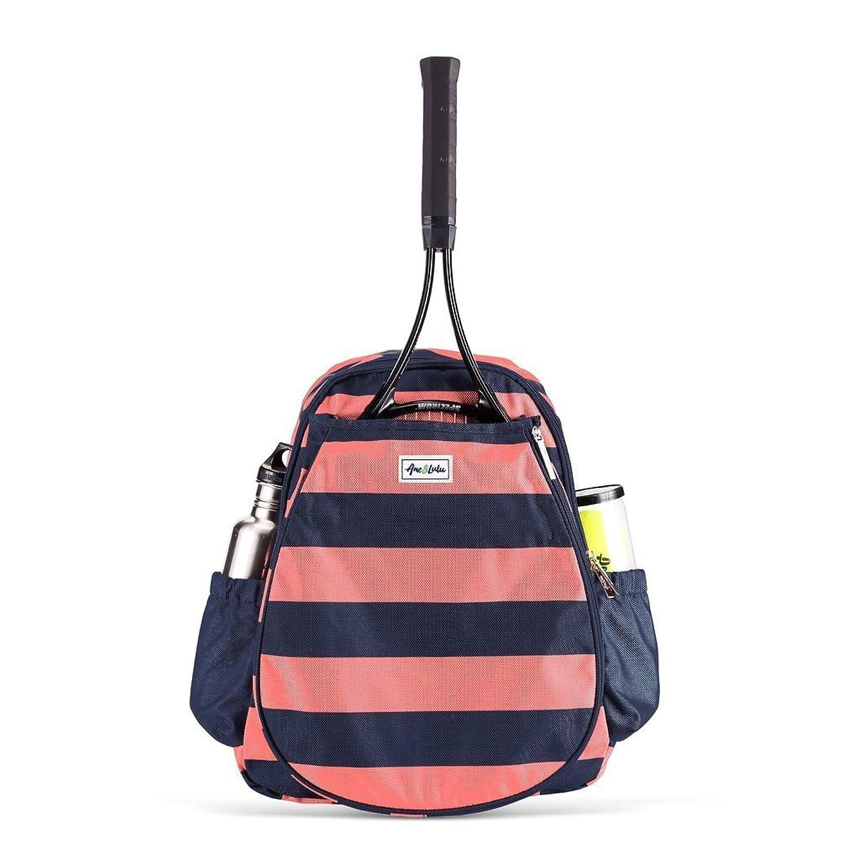 (アメ&ルル) Ame & Lulu Game On Tennis Backpack テニスのバックパックのゲーム (並行輸入品) B07D67PZDW  Sunny One Size