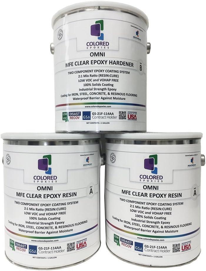 Epoxy Resin Coating High Gloss For Garage Floors