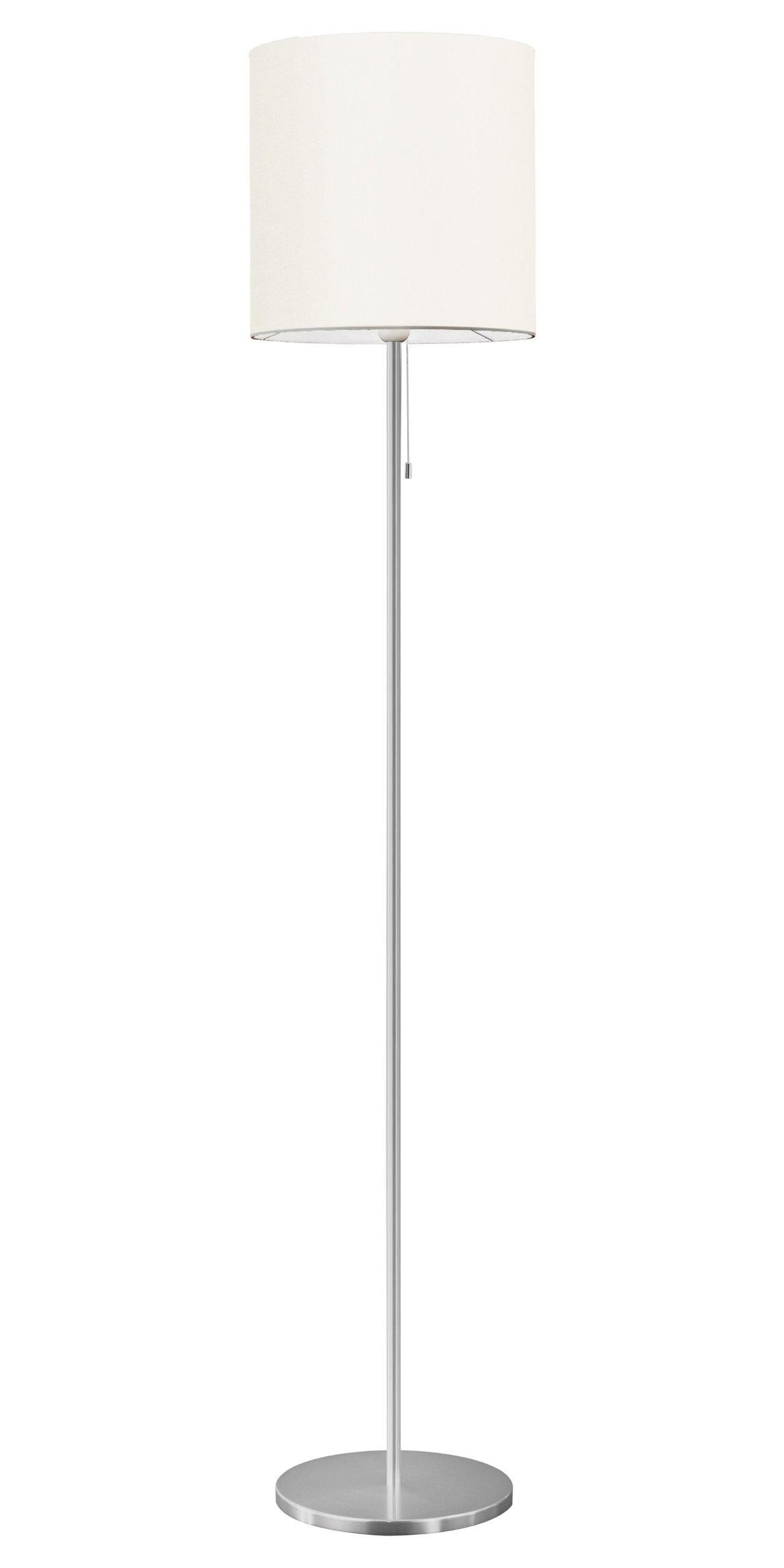 Eglo 82813A Sendo Floor Lamp, Aluminum