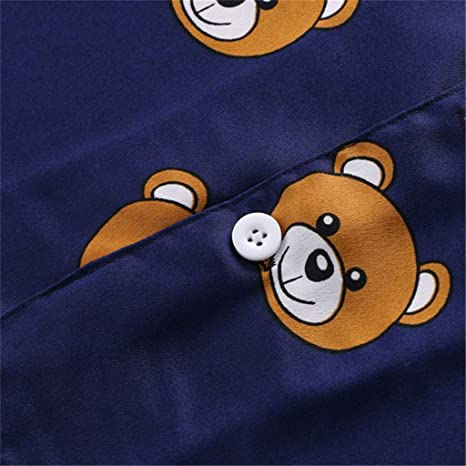 Amazon.com: Youmymine - Pijama de manga corta para bebé y ...