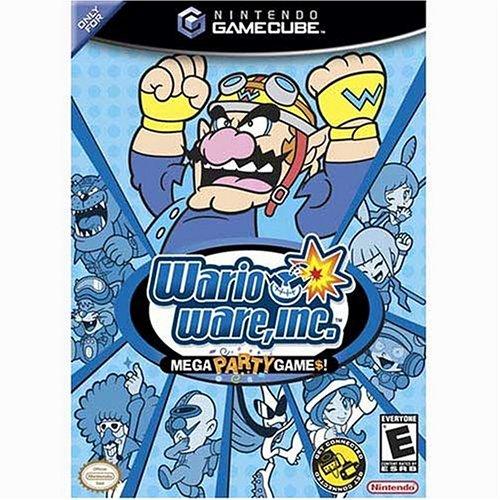 Wario Ware, Inc. Mega Party Games! (Gamecube Arcade Games)