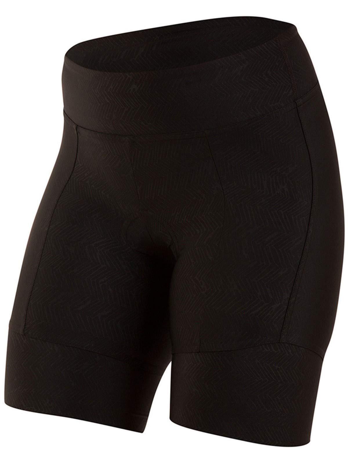 Pearl iZUMi Women's Pursuit Attack Shorts, Black Texture, XX-Large