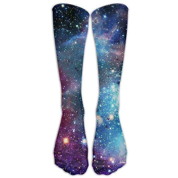 73febccd462 Yoigng Crew Socks Galaxy Vintage Mens Womens Knee High Tube Dresses Liner  Cosplay Stockings
