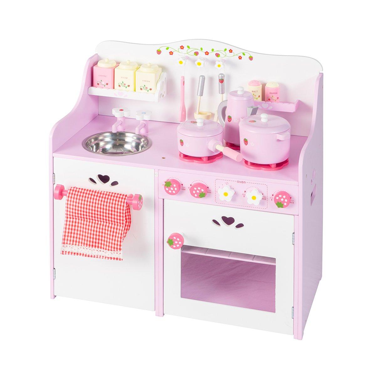 エンジョイPretend Kids料理キッチンプレイセット幼児用おもちゃセットwithアクセサリー   B075XMQLR7
