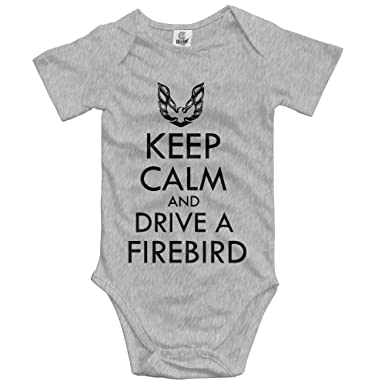 Amazon.com  woonmo Unisex Infant Bodysuits Keep Calm and Drive A Firebird Boys  Babysuit Short Sleeve Jumpsuit Sunsuit Outfit White  Clothing 5a17caa99