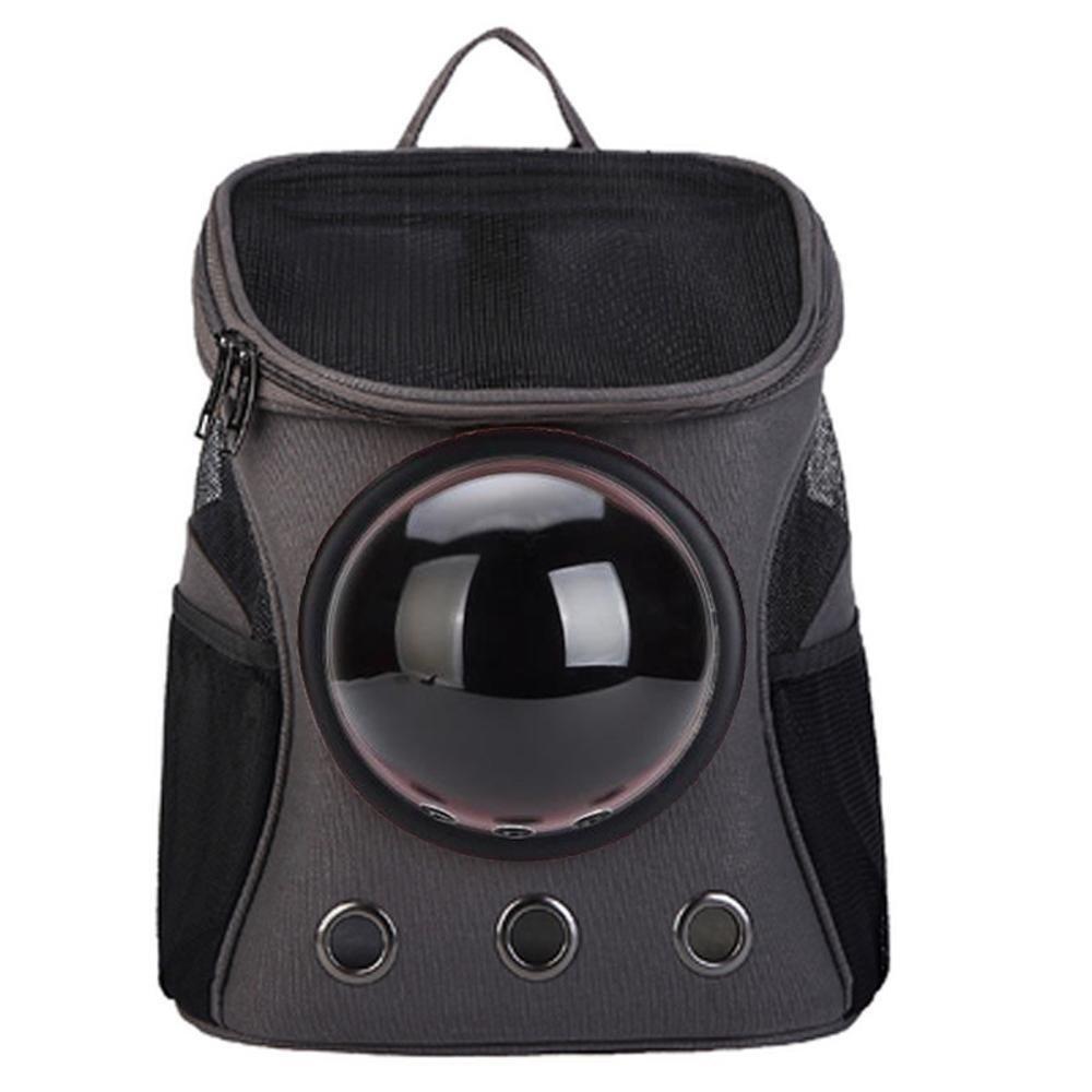 Dixinla Pet Carrier Zaino Space Capsula Pet Bag Zaino Fuori Bagaglio 32 x 25 x 38 cm